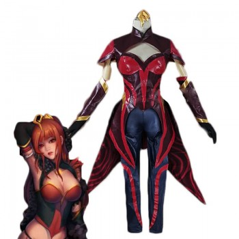 LOL Lux Star Guardian magma Cosplay Costume