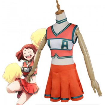 My Hero Academia Ochako Uraraka Woman Lala uniform Cosplay Costume