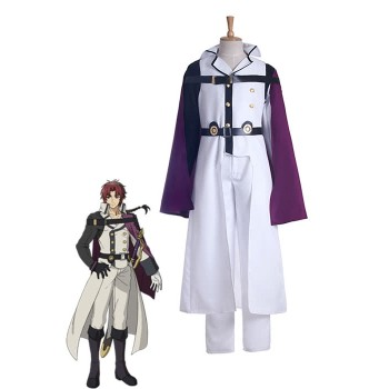 Seraph Of The End Eusford traje de cosplay Crowley
