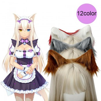 Simulation Fluff Animal Ears Cute Cosplay Headwear