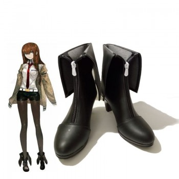 Steins;Gate 0 Kurisu Makise Black Cosplay Shoes