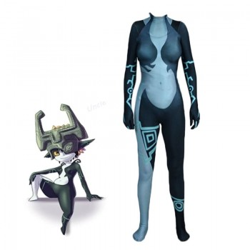 Video Game TLOZ  Midna(Briella Hellscythe)Tights Cosplay Costume