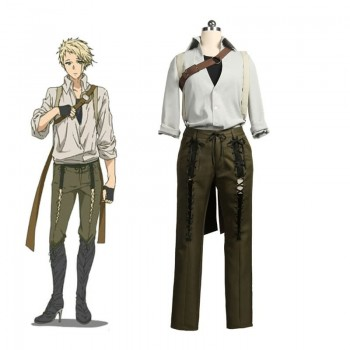 Violet Evergarden Blue Benedict Cosplay Costume Full Sets