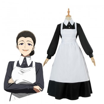 The Promised Neverland Isabella Nun Dress Cosplay Costume