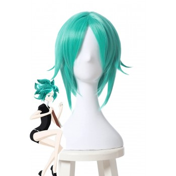 Houseki no Kuni Phos Cosplay Wigs Land of the Lustrous Short Green Synthetic Anime Wigs