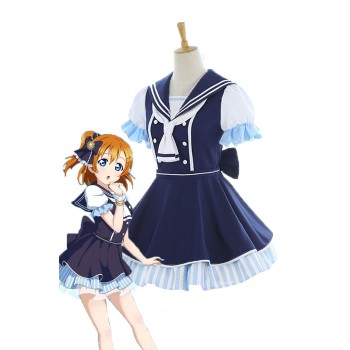 Love Live Pirate Set Honoka Kōsaka Cute Dress AnimeCosplay Disfraces