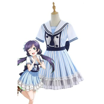 Love Live Pirate Set Nozomi Tojo Vestido lindo AnimeCosplay Disfraces