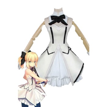 Fate / GrandOrder Saber Lily Anime Disfraces Cosplay