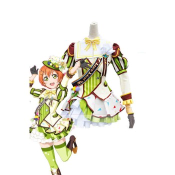 ¡Ama vive! Ice Awake Rin Hoshizora Anime Cosplay Disfraces