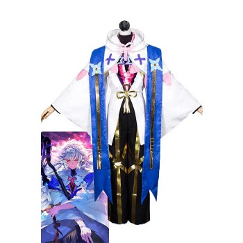 Fate / Grand Order Merlin Magus of Flowers Disfraces de Anime Cosplay