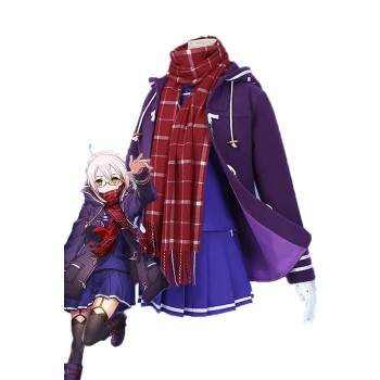 Fate / Grand Order Mysterious Heroine X Purple Disfraz de Cosplay