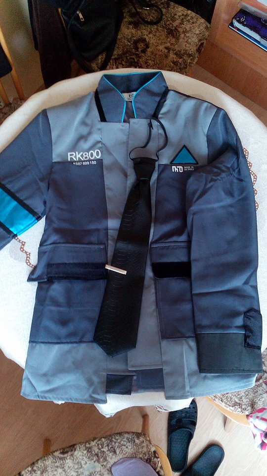 Wow! The jacket and tie came today, which is like super fast, I was suprised! It's a good quality product, measures are fitting, I'm very satisfied. So...thank you so much, dear seller. Five stars and recommended.