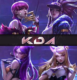 LOL KDA cosplay