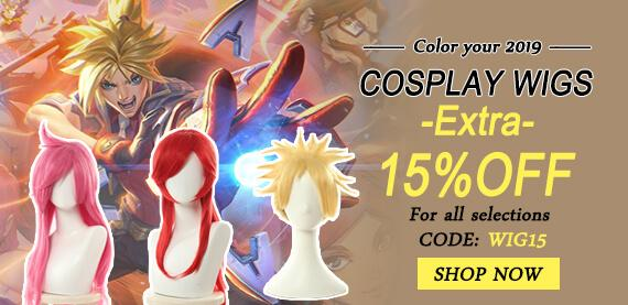 anime costumes wigs
